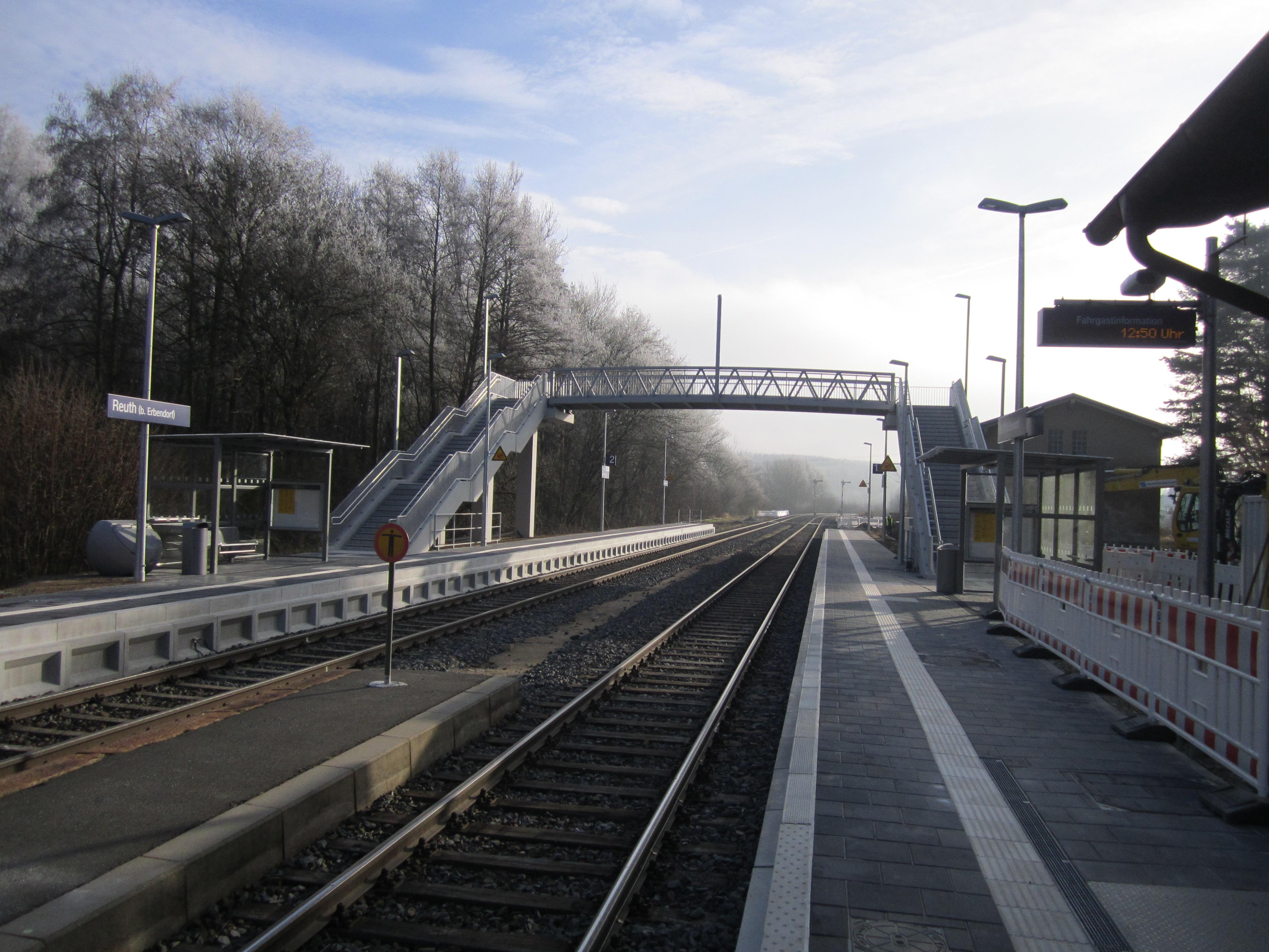 Projektbild 1, Bahnhof | Reuth