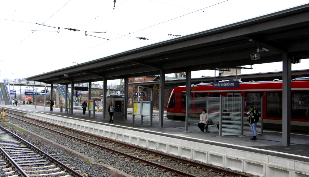 Projektbild 2, Bahnhof | Neubrandenburg