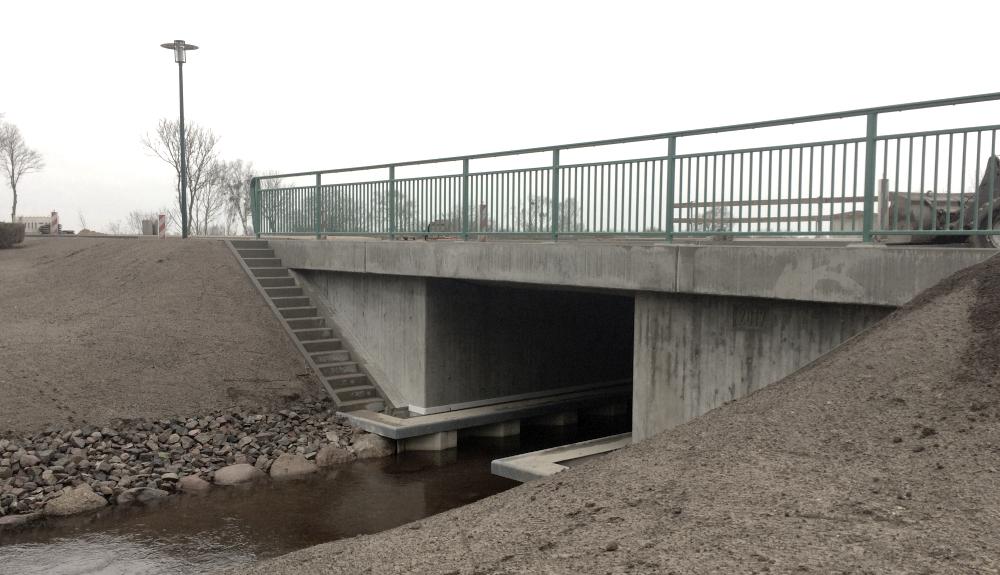 Projektbild 1, Brücke | Plöwenschen Abzugskanal