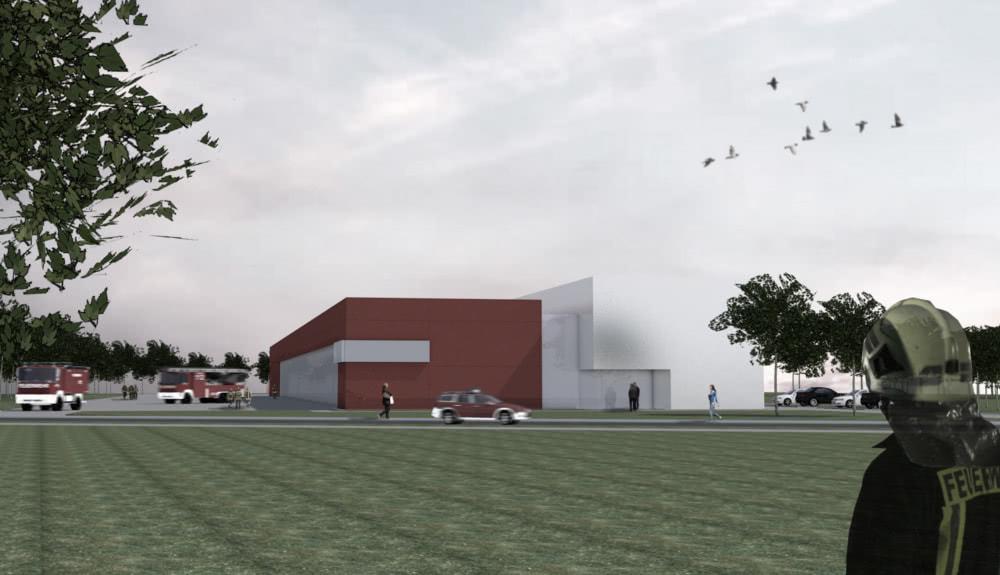 Projektbild 1, Feuerwache  |  Rostock
