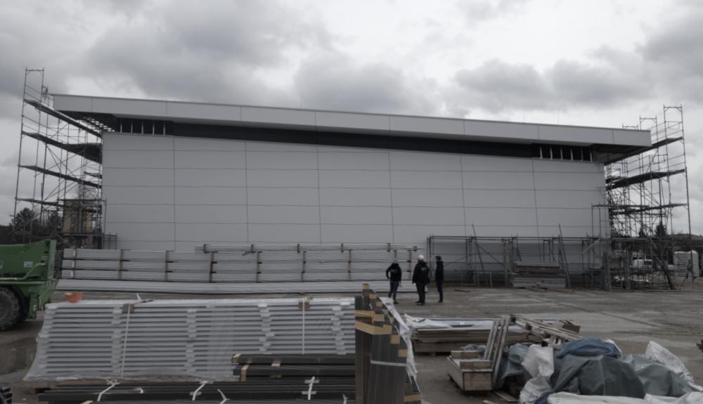 Projektbild 6, Kfz Instandsetzungshalle |  |  H.-J. Zieten Kaserne Beelitz
