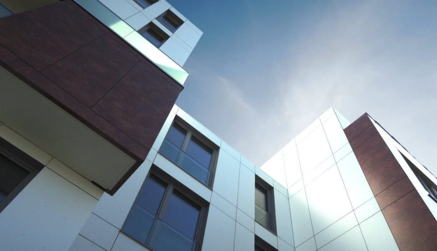 Bild Titelseite: Neubau Wohnanlage Petriviertel | Rostock