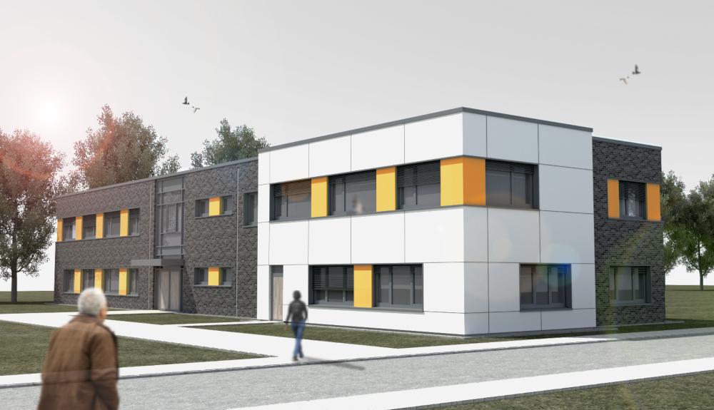 Projektbild 1, Zolllehranstalt II  |  Gehlsdorf