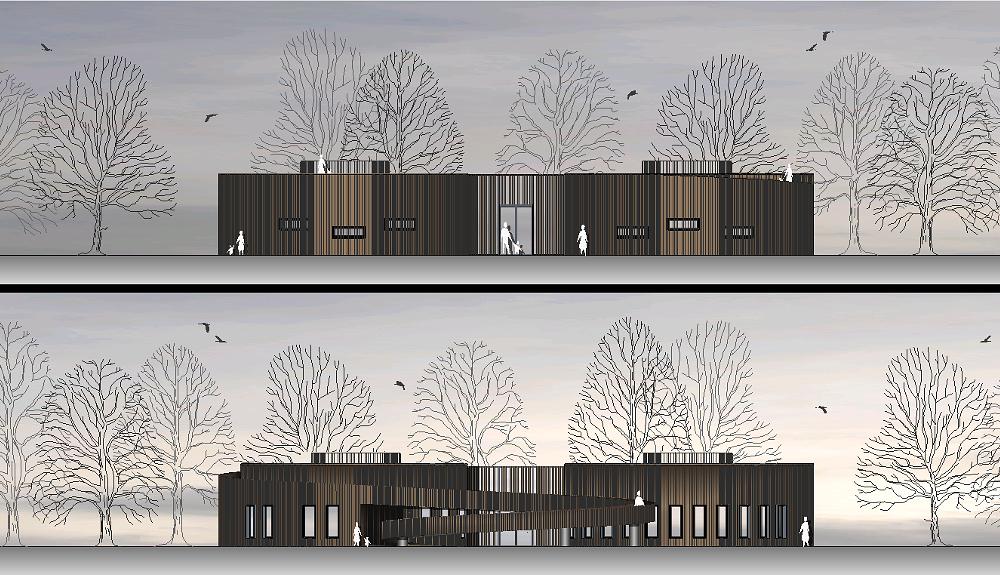 Projektbild 3, Besucherzentrum  |  Wolgast