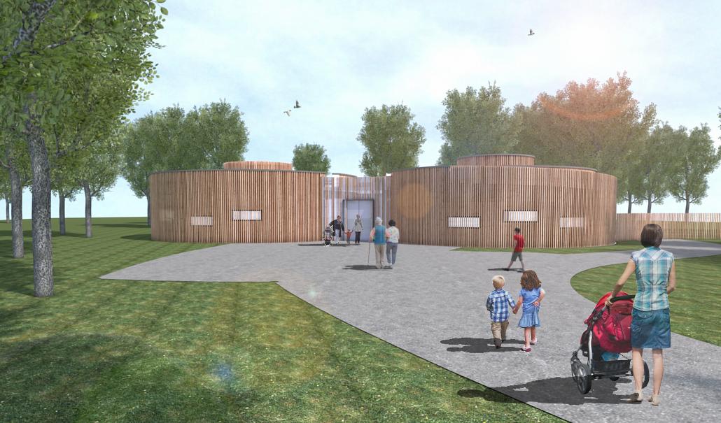 Projektbild 2, Besucherzentrum + Funktionsgebäude | Wolgast