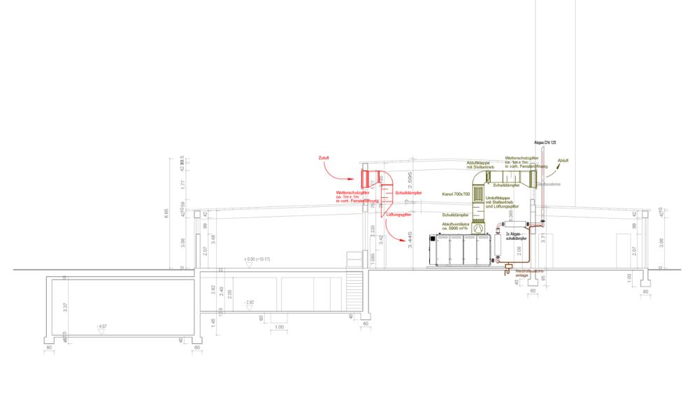 Projektbild 1, Neubau BHKW | Wagrien-Kaserne Putlos
