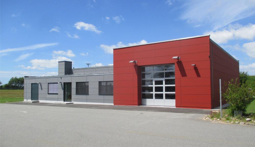 Projektbild 1, Dienstgebäude | NATO Flugplatz Schleswig-Jagel