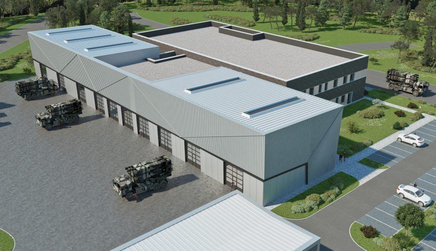 Projektbild 2, Ausbildungszentrum | Schwesing