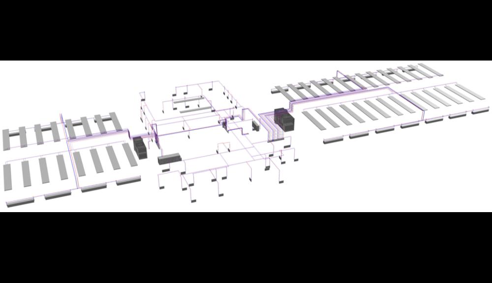 Projektbild 14, Kfz Instandsetzungshalle |  |  H.-J. Zieten Kaserne Beelitz