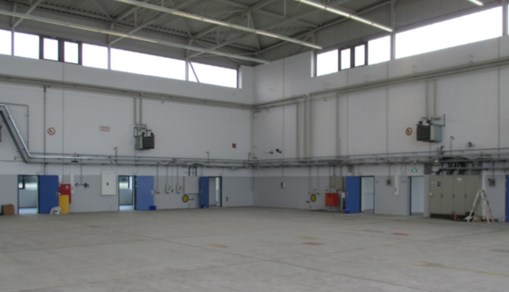 Projektbild 1, Lfz Inst. Halle   |   NATO Flugplatz Schleswig – Jagel
