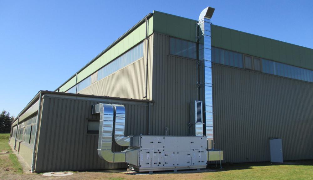 Projektbild 3, Lfz Inst. Halle   |   NATO Flugplatz Schleswig – Jagel