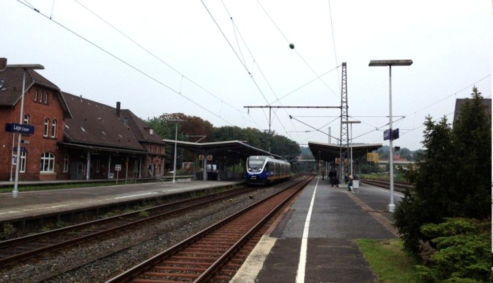 Projektbild 1, Modernisierungsoffensive 2 Nordrhein-Westfalen – Umgestaltung Bahnhof Lage (Lippe)
