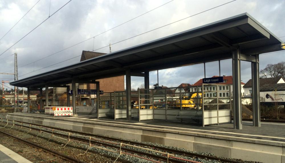 Projektbild 2, Modernisierungsoffensive 2 Nordrhein-Westfalen – Umgestaltung Bahnhof Lage (Lippe)