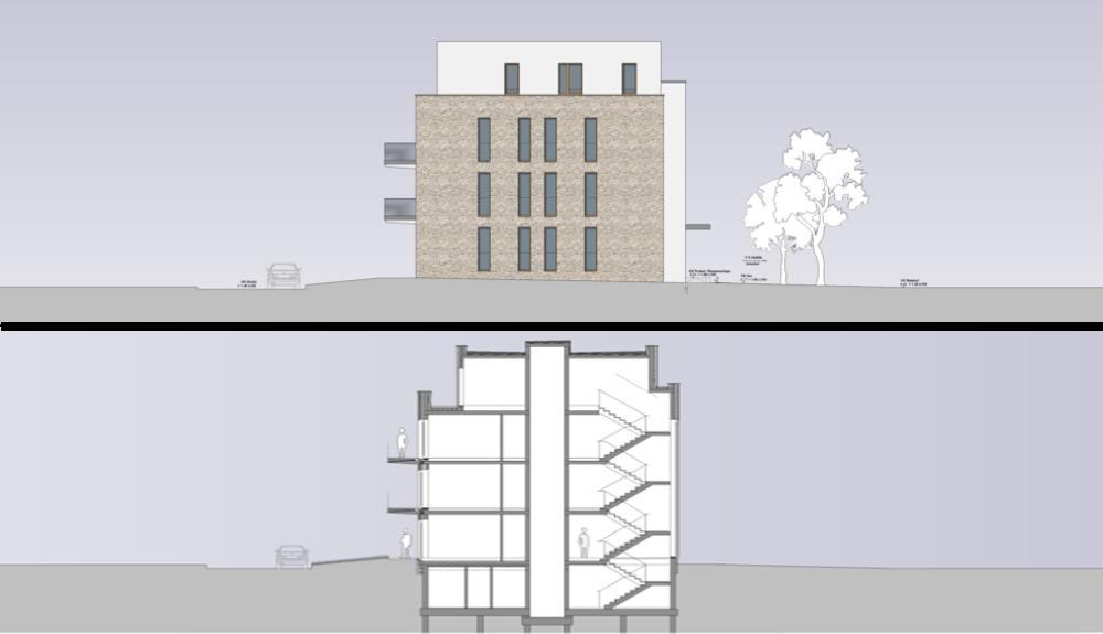 Projektbild 7, Mehrfamilienhaus | Rostock – Wiesenweg Warnemünde