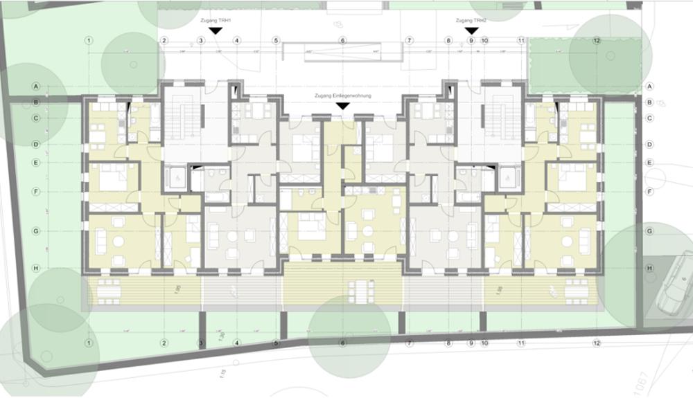 Projektbild 8, Mehrfamilienhaus | Rostock – Wiesenweg Warnemünde