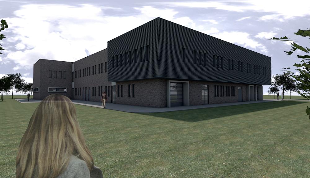 Projektbild 3, Neubau Bundeswehr-Dienstleistungszentrum  |  Waldkaserne Hilden