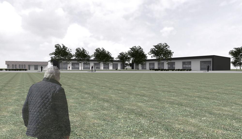 Projektbild 2, Neubau Bundeswehr-Dienstleistungszentrum  |  Waldkaserne Hilden