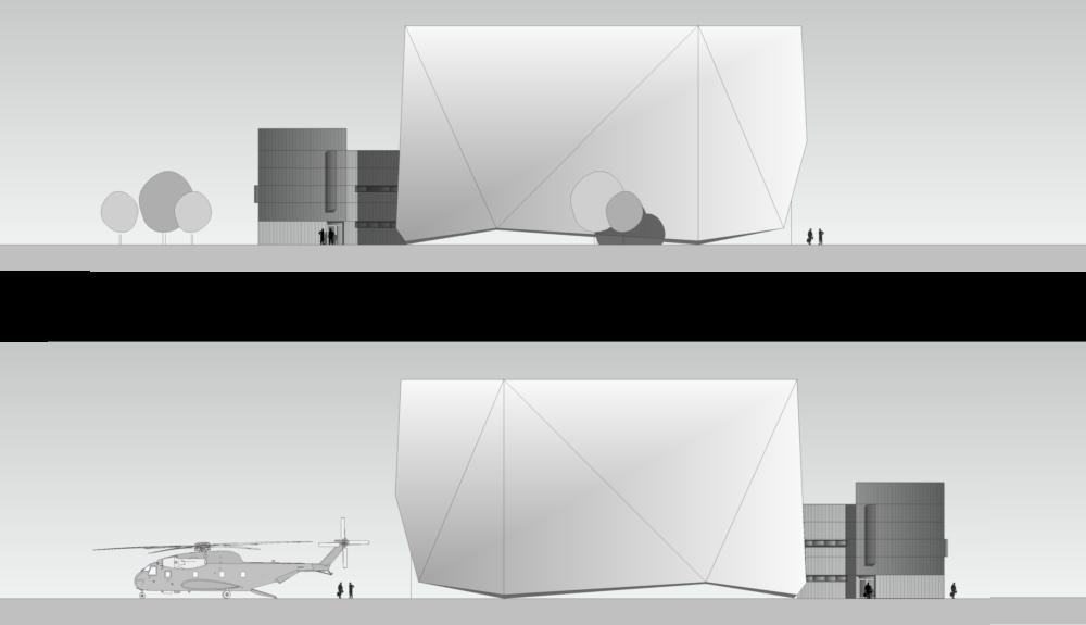 Projektbild 4, Neubau einer Halle für Luftfahrzeuge     Flugplatz Holzdorf