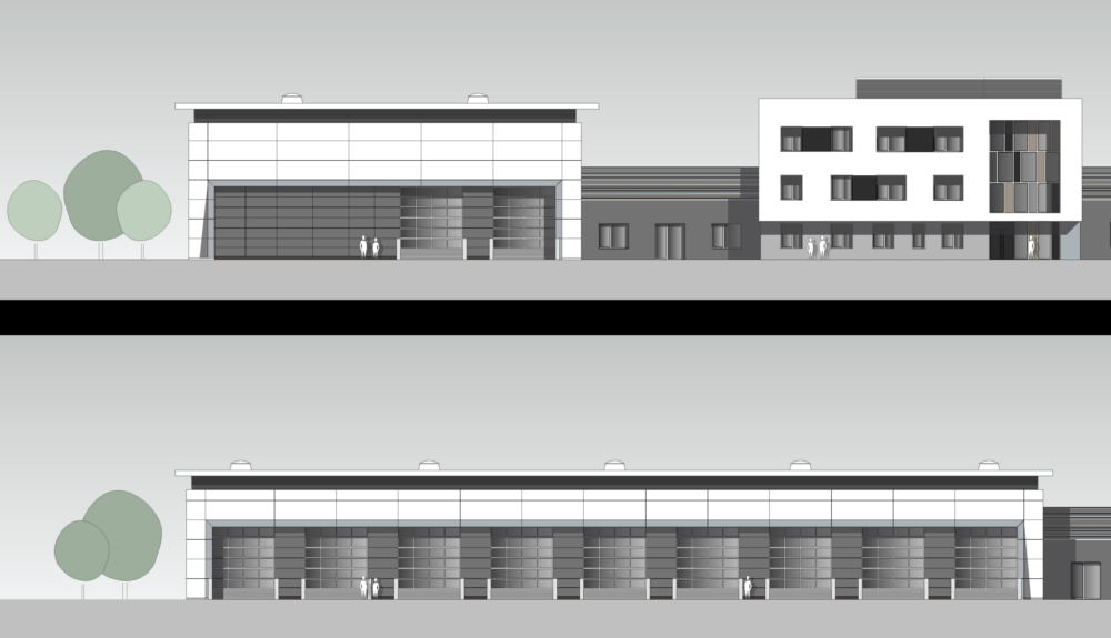 Projektbild 1, Kfz Instandsetzungshalle II     H.-J. Zieten Kaserne Beelitz
