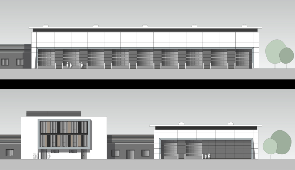 Projektbild 2, Kfz Instandsetzungshalle II     H.-J. Zieten Kaserne Beelitz