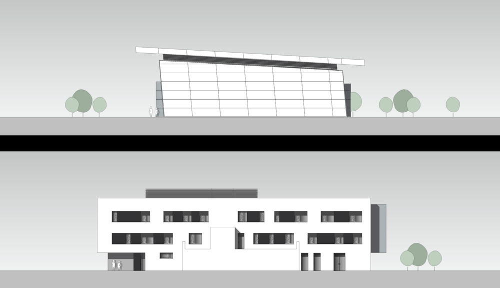 Projektbild 3, Kfz Instandsetzungshalle II     H.-J. Zieten Kaserne Beelitz