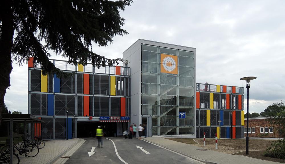 Projektbild 1, Parkhaus Südstadtklinikum   |   Rostock
