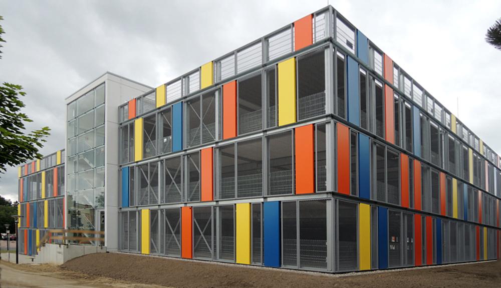 Projektbild 2, Parkhaus Südstadtklinikum   |   Rostock