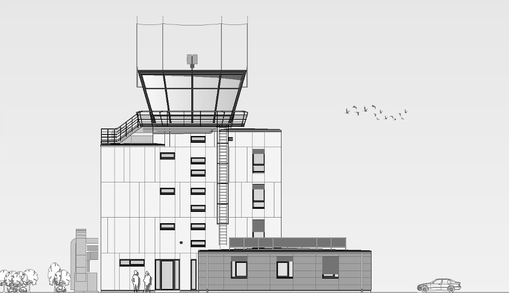 Projektbild 3, Tower | NATO Flugplatz Schleswig – Jagel