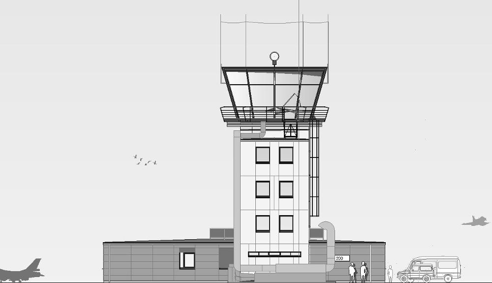 Projektbild 5, Tower | NATO Flugplatz Schleswig – Jagel