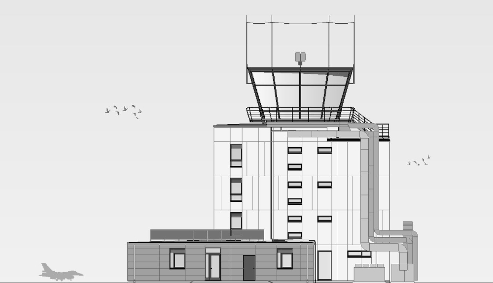 Projektbild 4, Tower | NATO Flugplatz Schleswig – Jagel