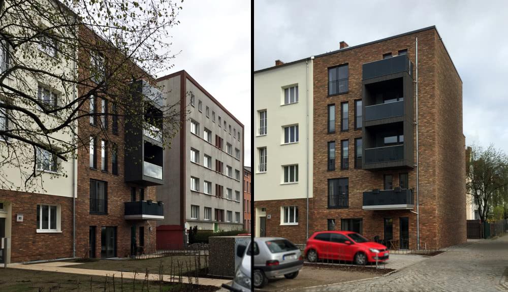 Projektbild 1, Mehrfamilienhaus | Patriotischer Weg – Rostock