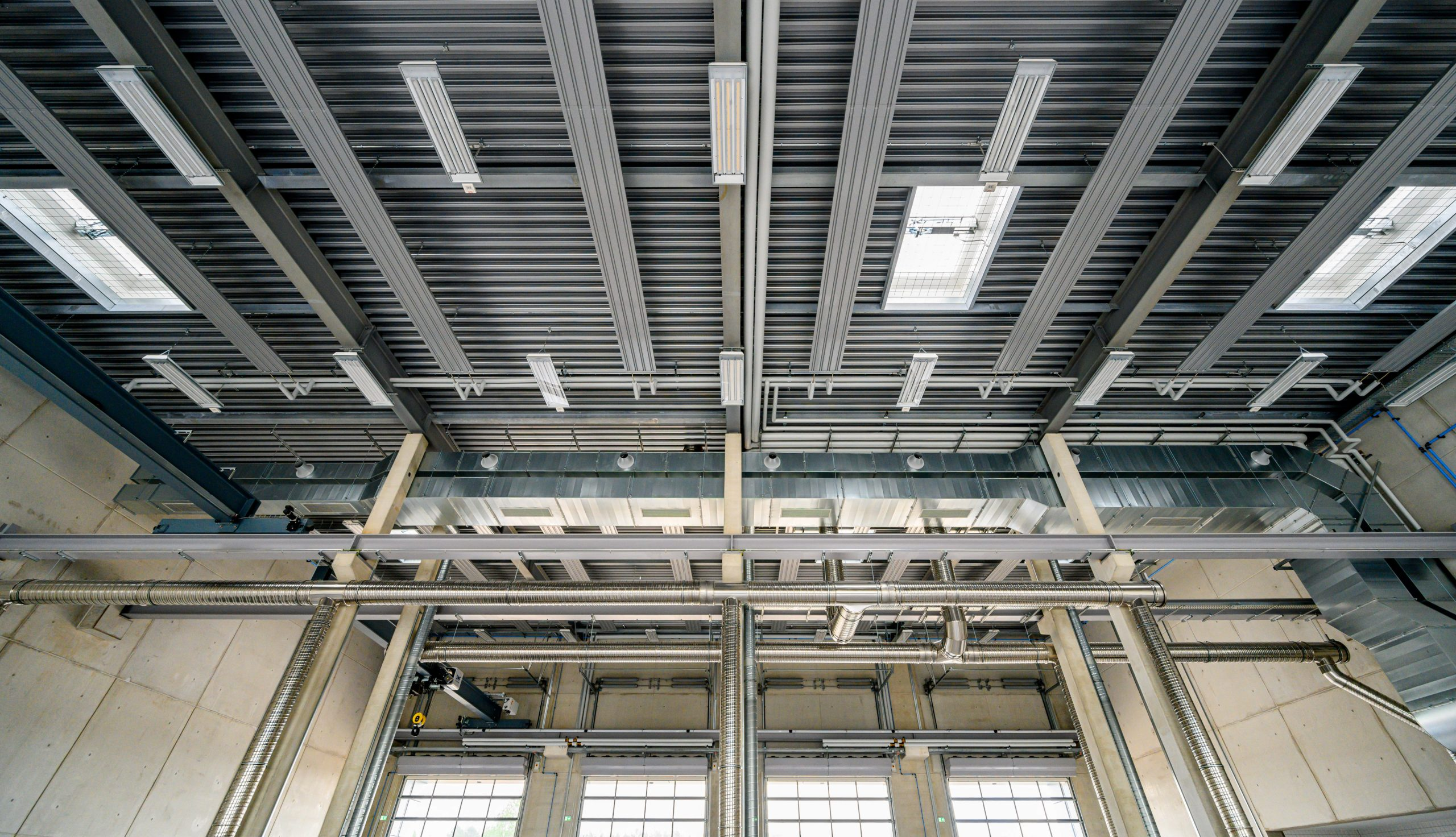 Projektbild 12, Kfz Instandsetzungshalle |  |  H.-J. Zieten Kaserne Beelitz