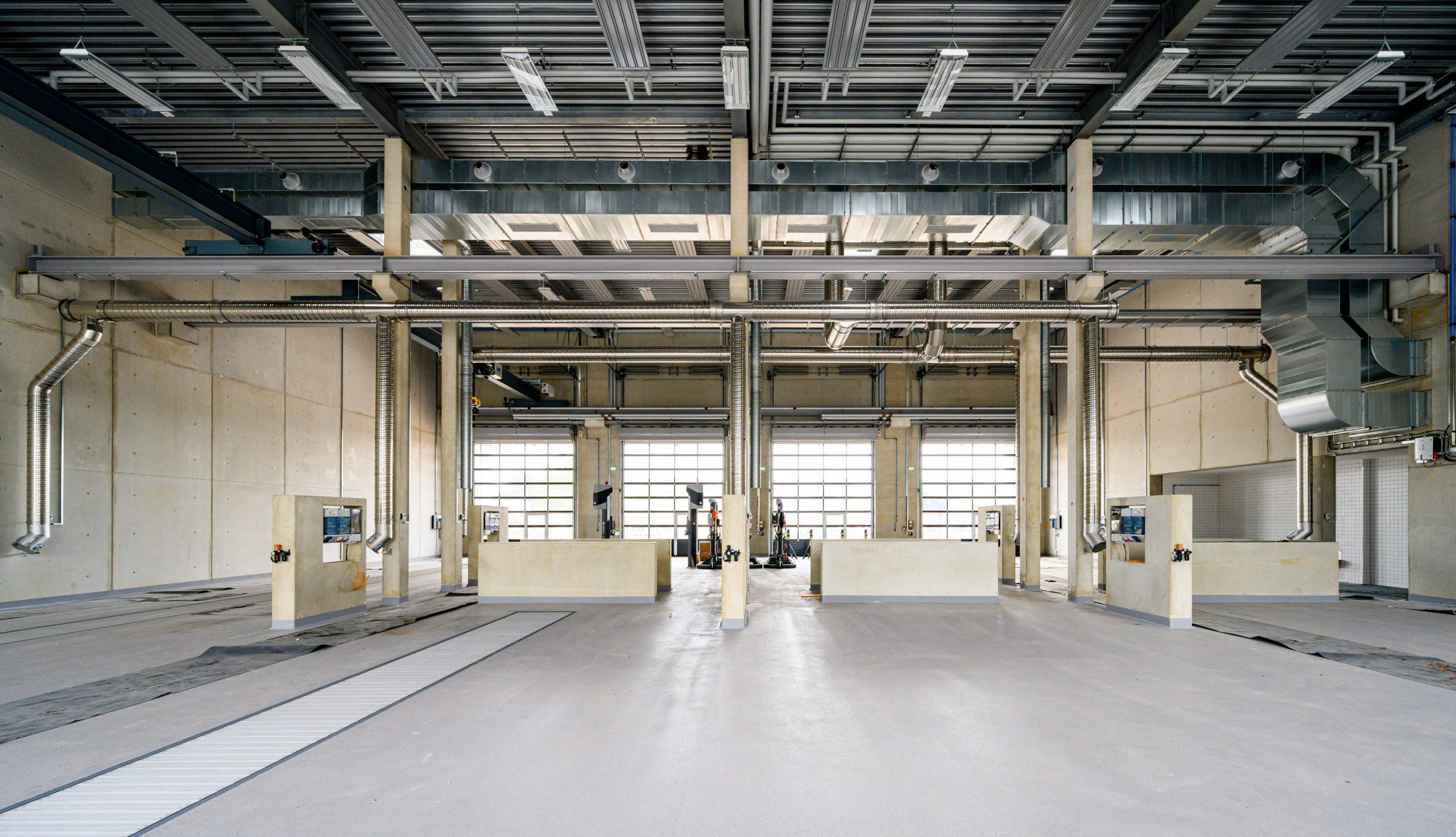 Projektbild 13, Kfz Instandsetzungshalle |  |  H.-J. Zieten Kaserne Beelitz