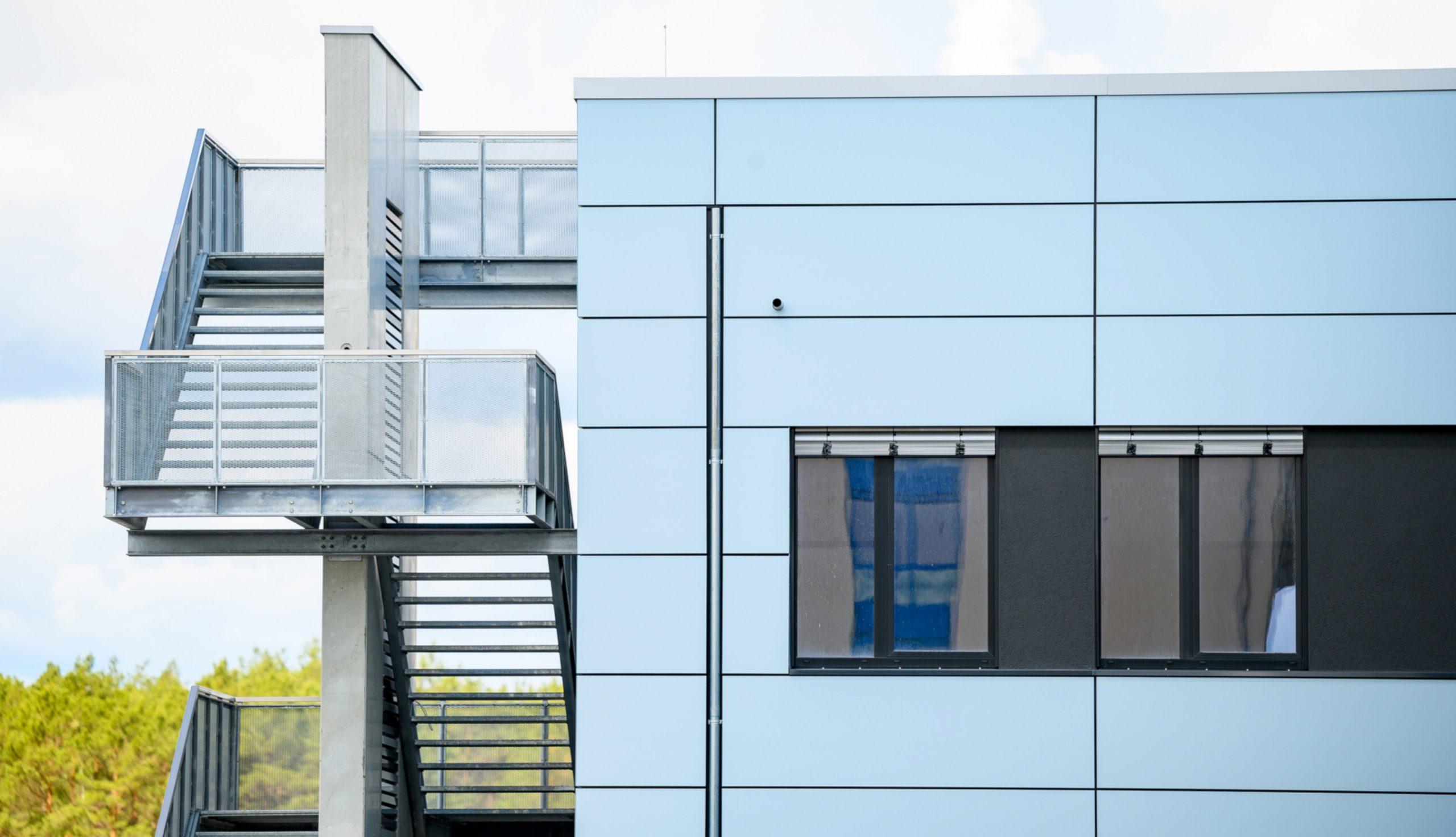Projektbild 7, Kfz Instandsetzungshalle |  |  H.-J. Zieten Kaserne Beelitz