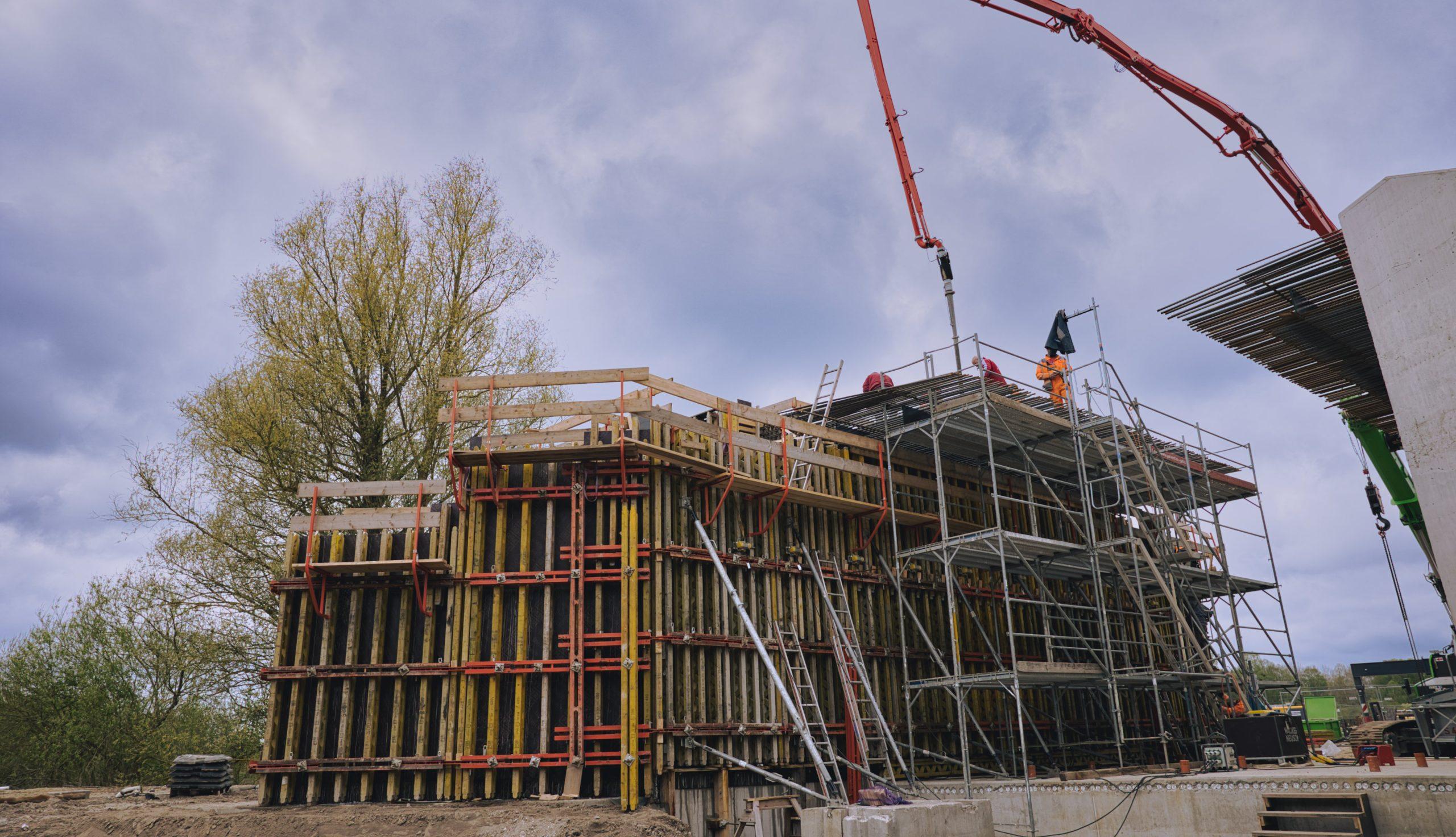 Projektbild 4, EÜ Wesenberger Chaussee   Neustrelitz