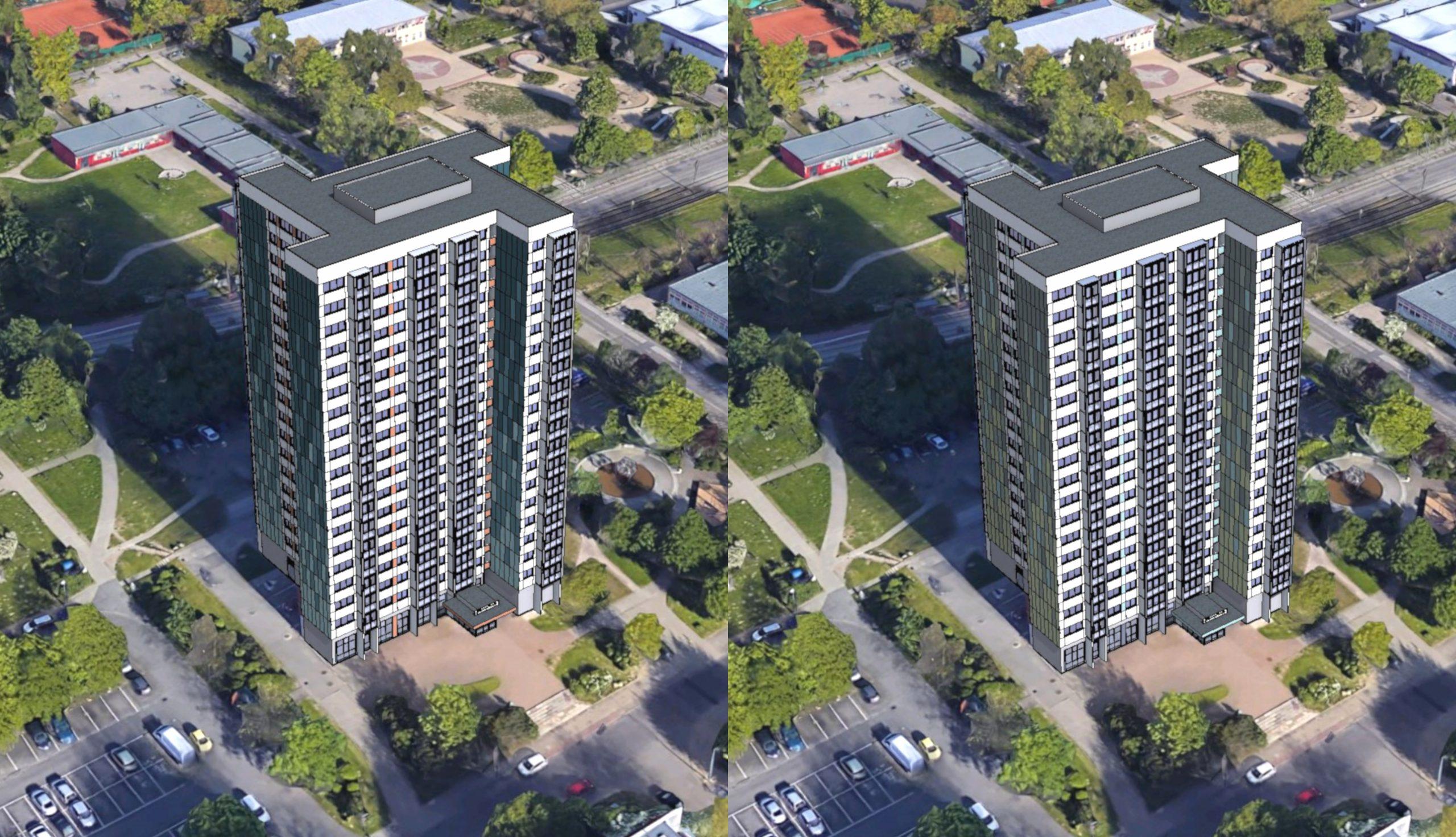 Projektbild 4, Hochhaus in der Ahlbecker Straße 8 | Rostock – Lütten-Klein