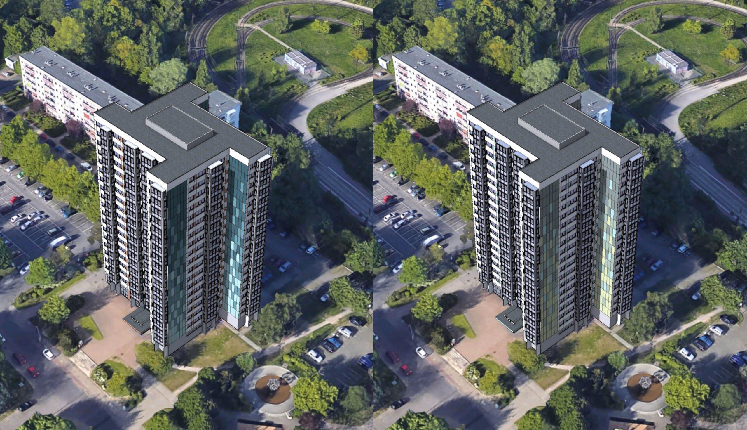 Projektbild 5, Hochhaus in der Ahlbecker Straße 8 | Rostock – Lütten-Klein