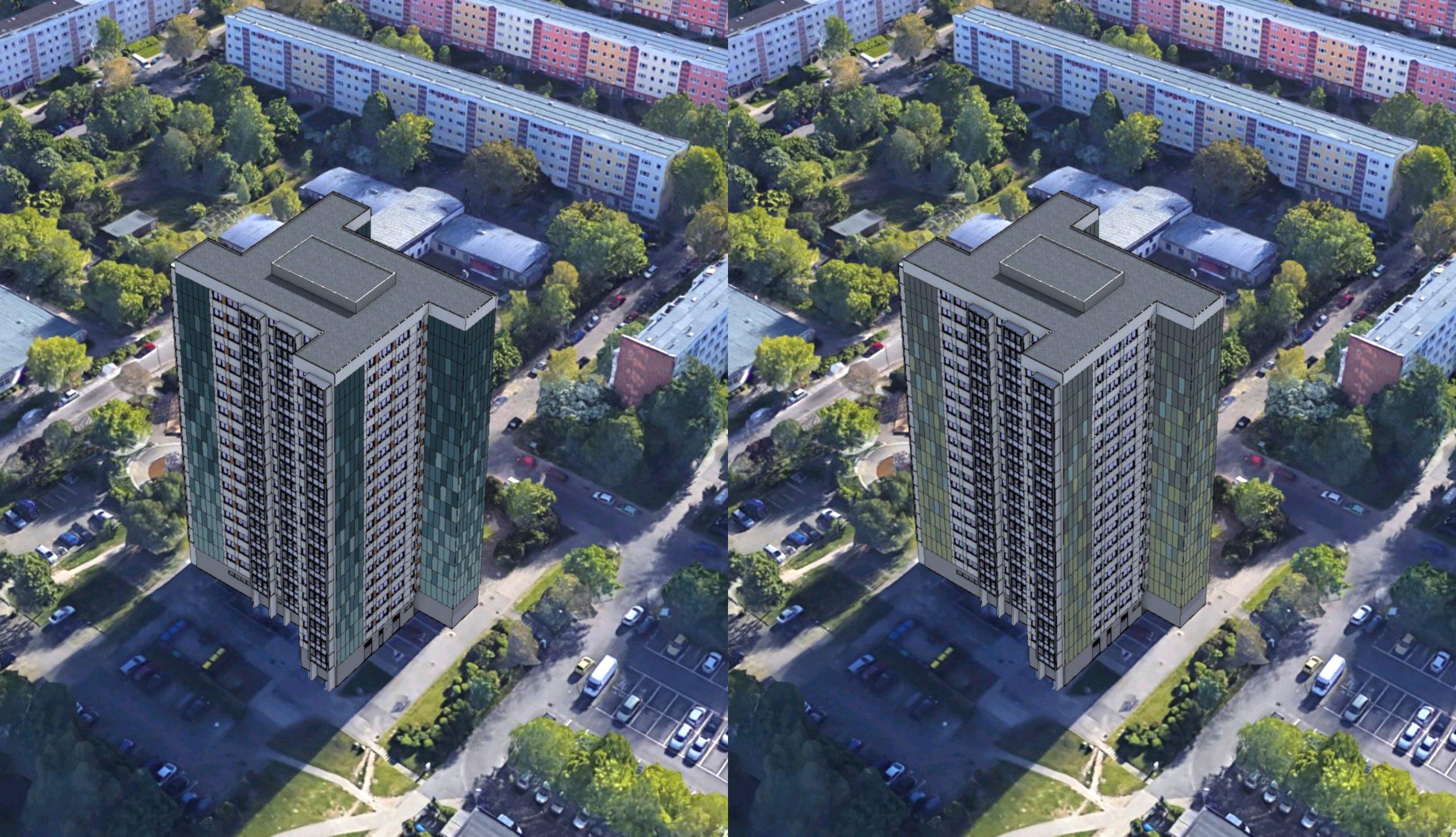 Projektbild 6, Hochhaus in der Ahlbecker Straße 8 | Rostock – Lütten-Klein