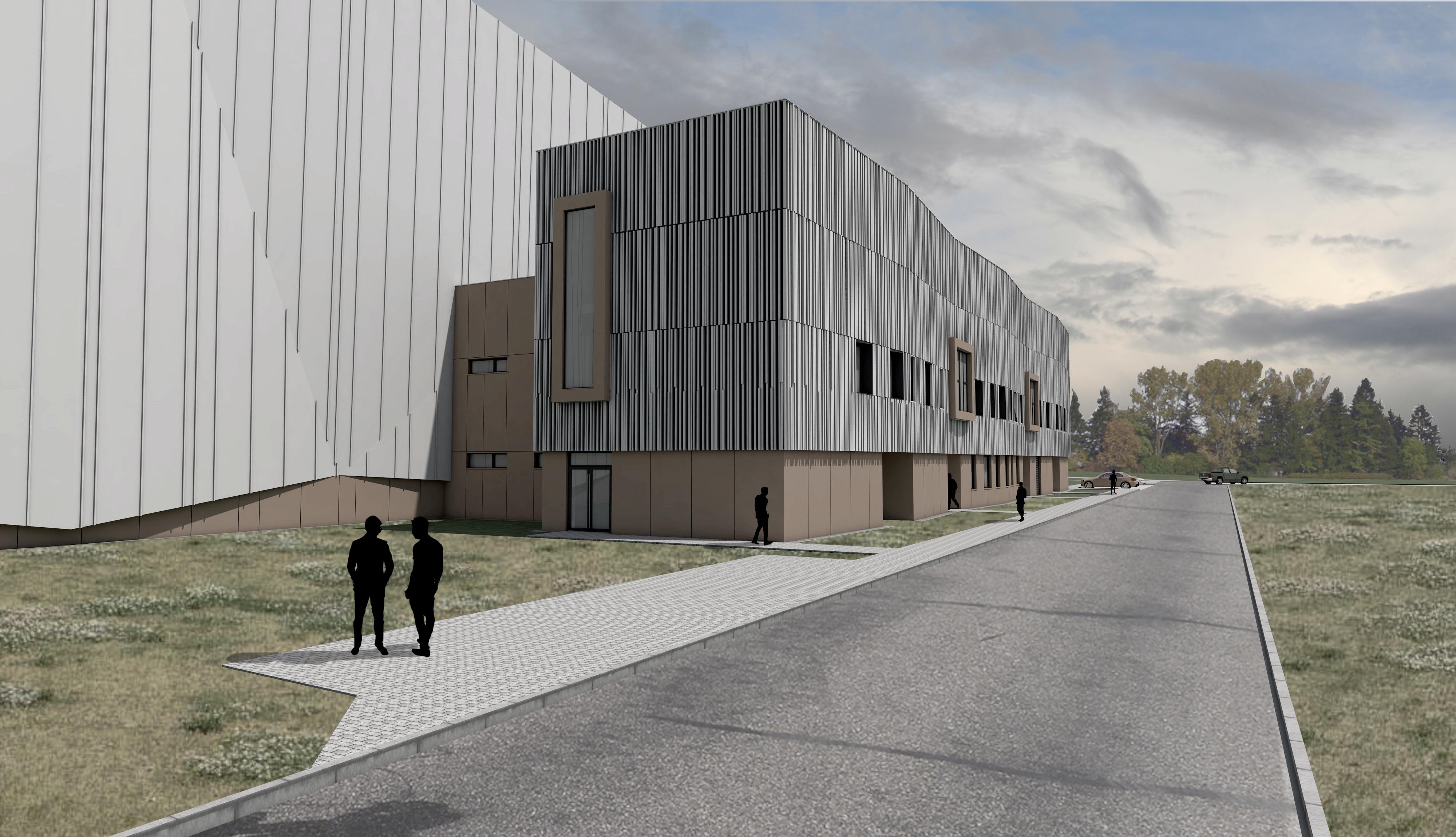 Projektbild 3, Neubau einer Halle für Luftfahrzeuge  |  Flugplatz Holzdorf