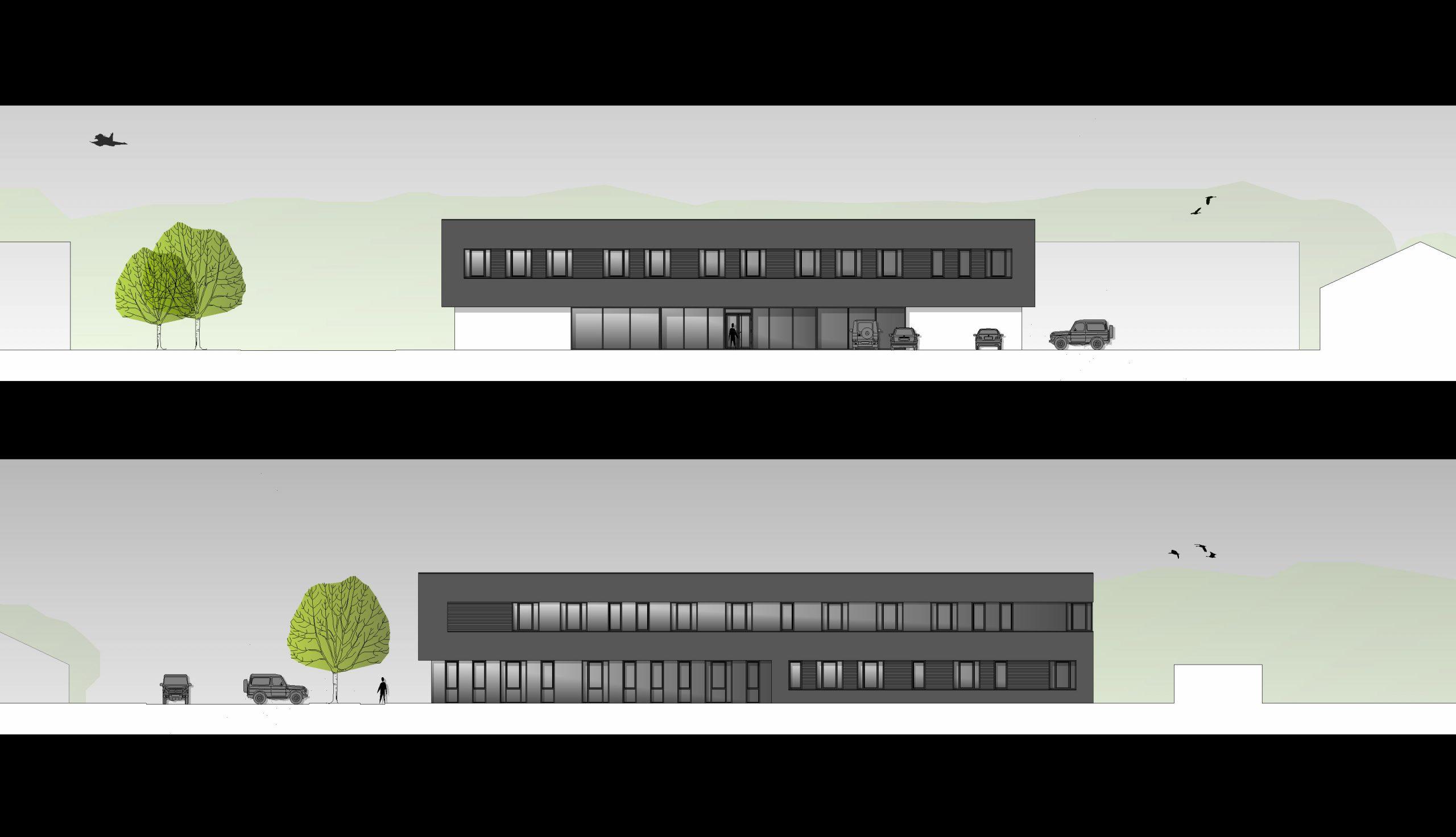 Projektbild 2, Stabsgebäude  |  Laage