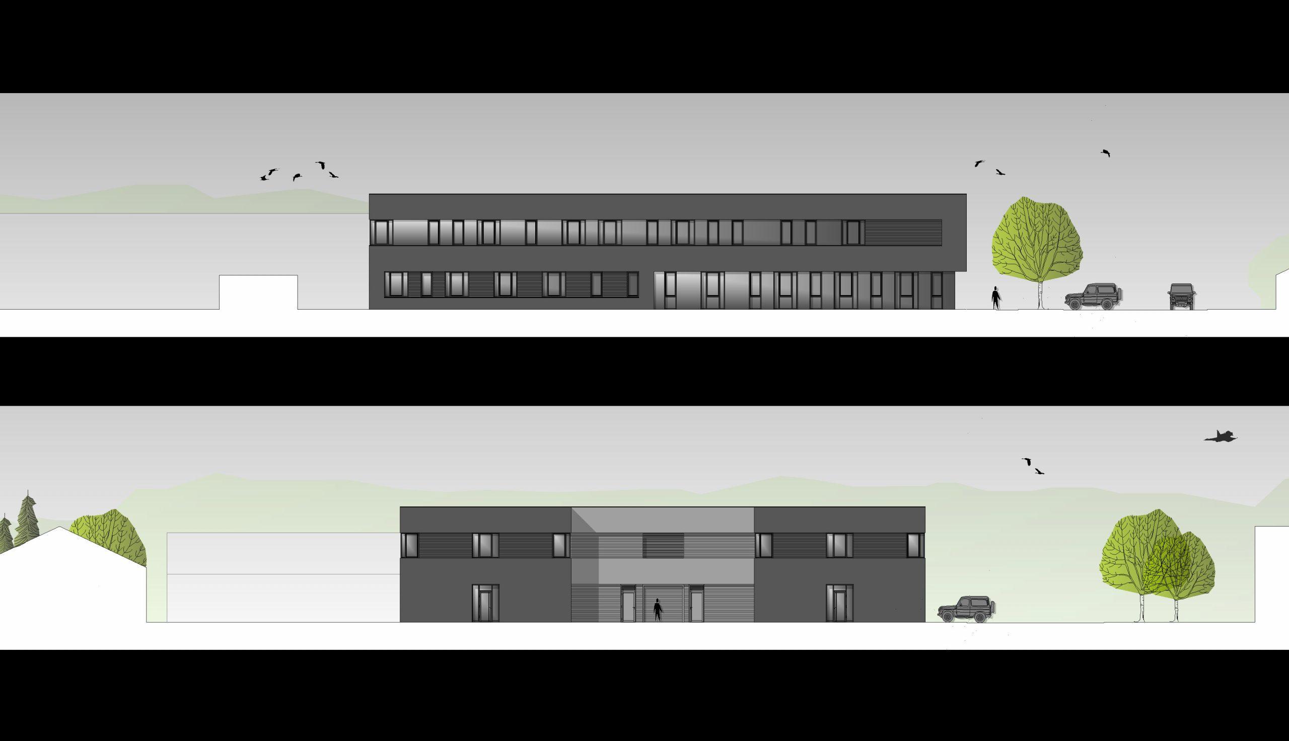 Projektbild 3, Stabsgebäude  |  Laage